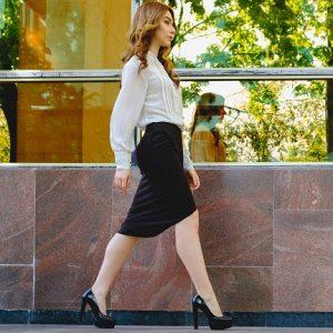 Confident walk