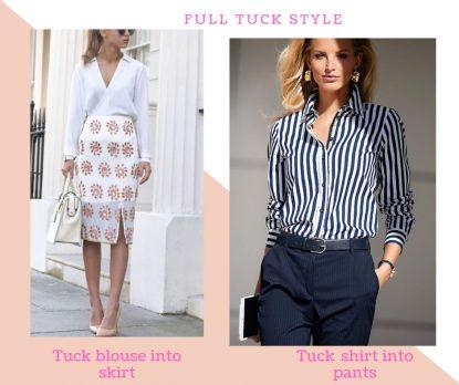 Full tucking style