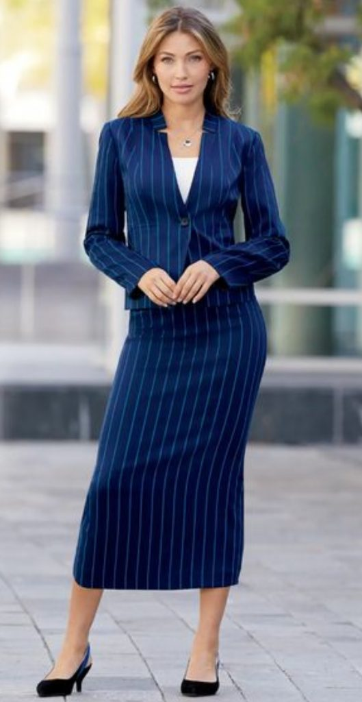 subtle pinstripes