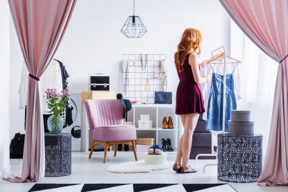Couture the physical space of your closet