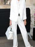 Summer white suit