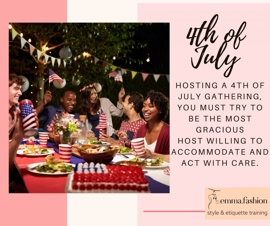 Fourth of july etiquette tips