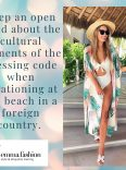 Etiquette swimsuit when vacationing overseas
