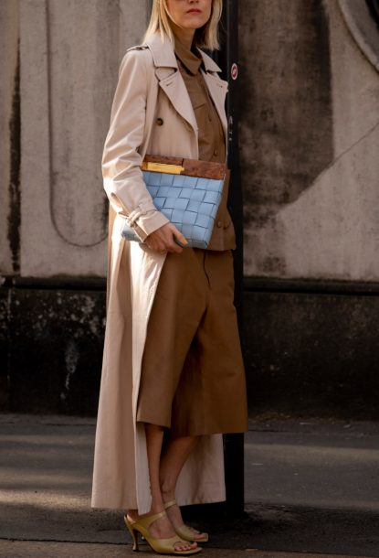 Trench duster coat