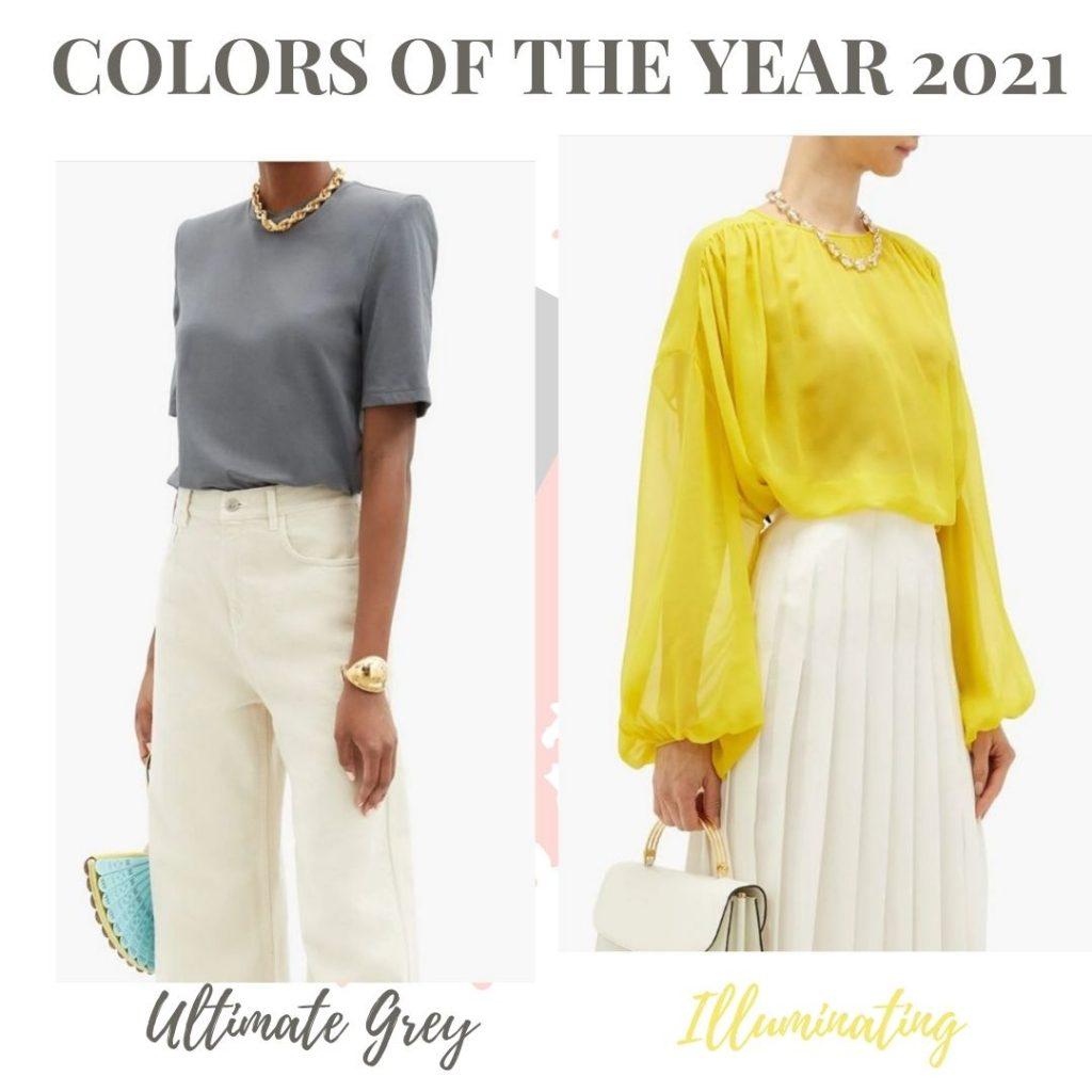 Ultimate grey & illuminating yellow