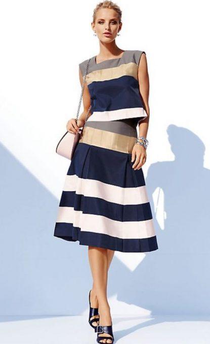 A-line skirt matchig set