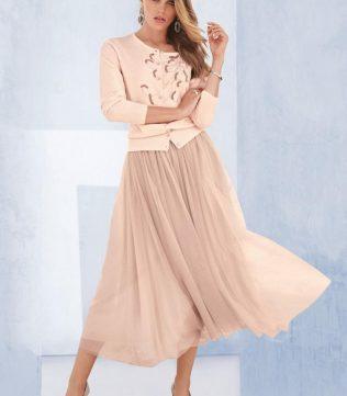 Flowy full swimg A-line skirt