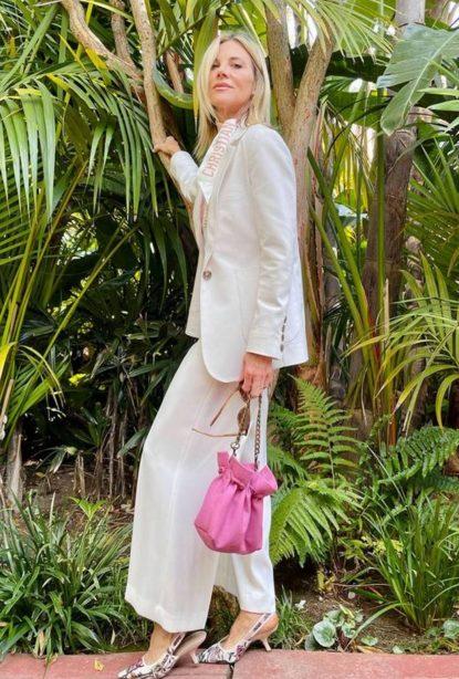 Small pastel bag