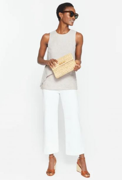Office style White pants