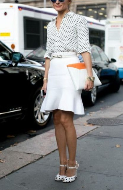 Mini skirt with long sleeves top