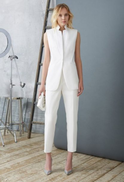 White pants office style