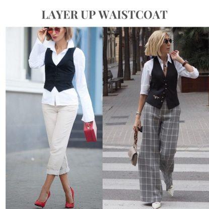 Layer up waistcoat
