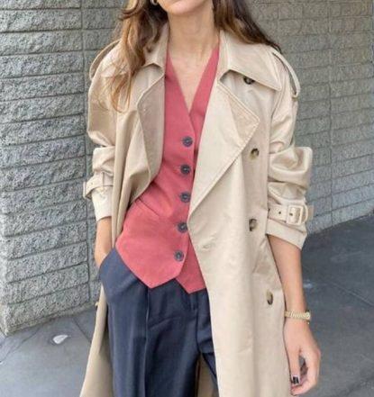 Mismatched waistcoat