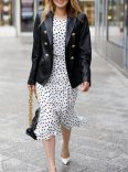 Midi dress and blazer