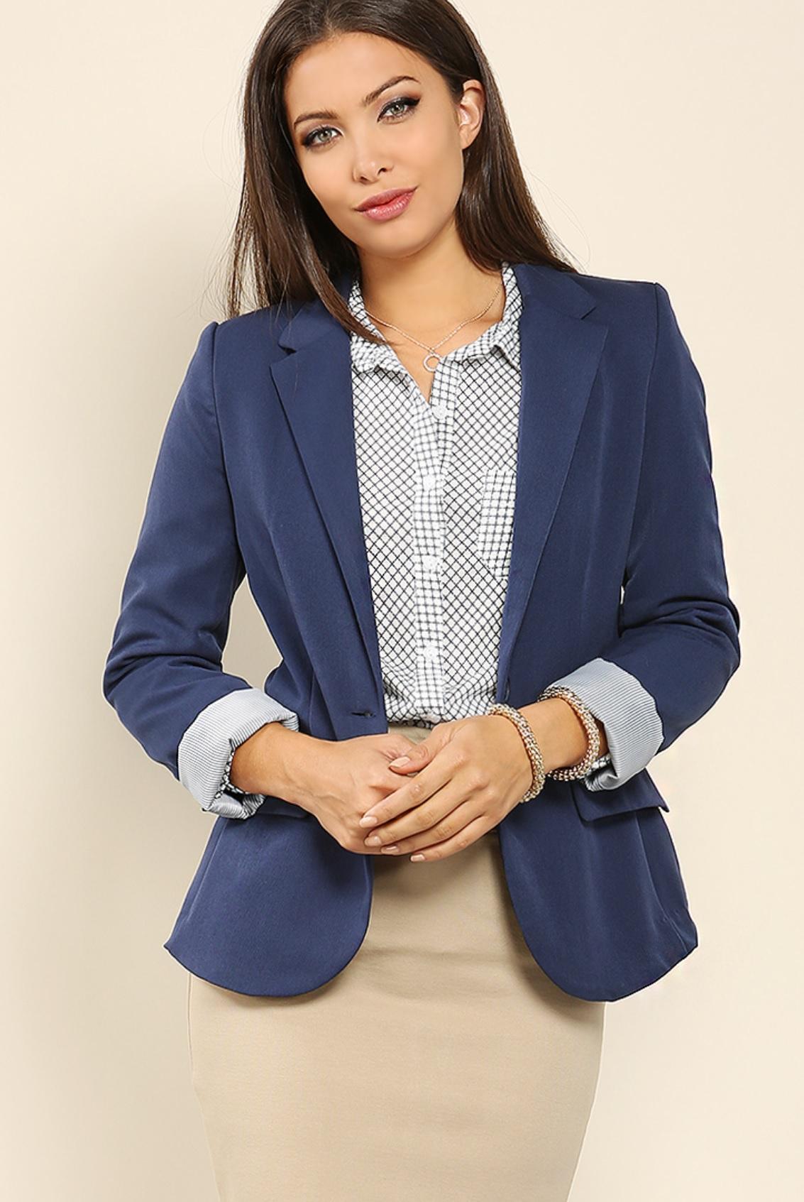 Blazer - sleeves length