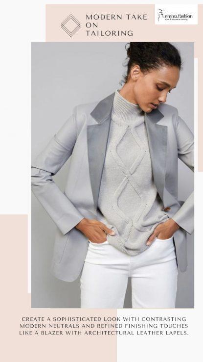 Modern tailoring